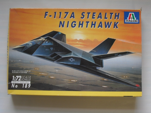 189 F-117A STEALTH NIGHTHAWK
